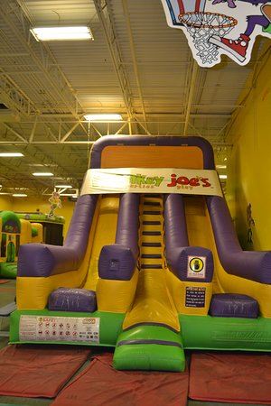 Cobb, GA: Our most popular older child slide, the Dual Slide, is over 28 feet tall!