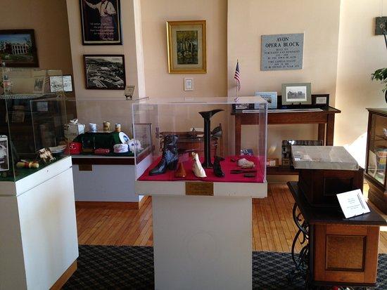 Avon, NY: Museum displays
