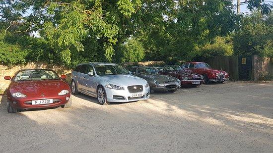 Jaguar club dinner
