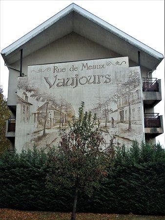 """Fresque """"Rue de Meaux"""""""