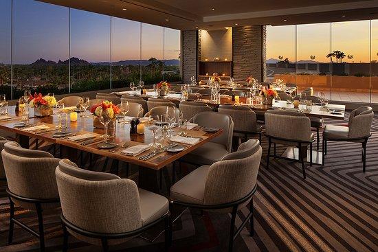 J G Steakhouse At The Phoenician Scottsdale Menu
