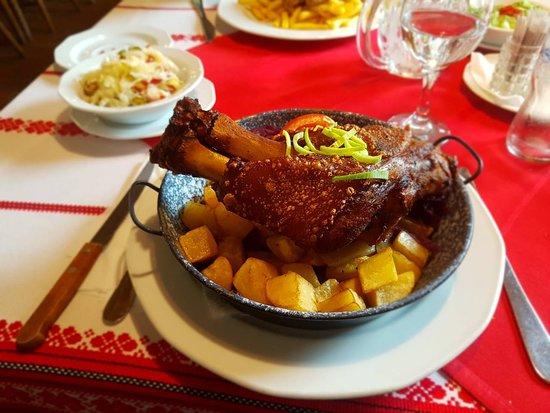 Százhalombatta, Magyarország: Pork chops