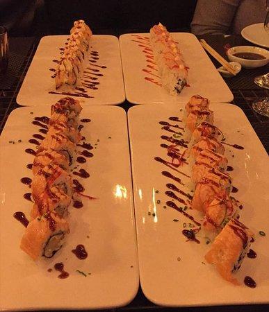 Piatti di sushi: davvero buoni