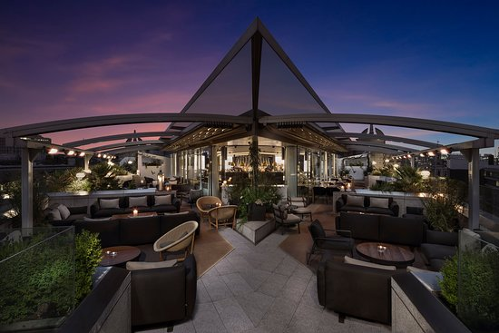 ME London Hotel: Radio Rooftop