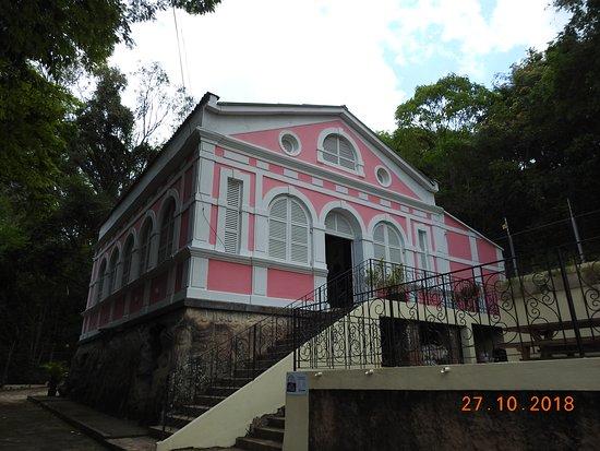 Caxambu: mais uma vez a vista do museu