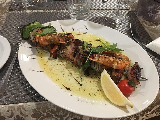 Restaurant & Grill Muralha: Brochette de calamars