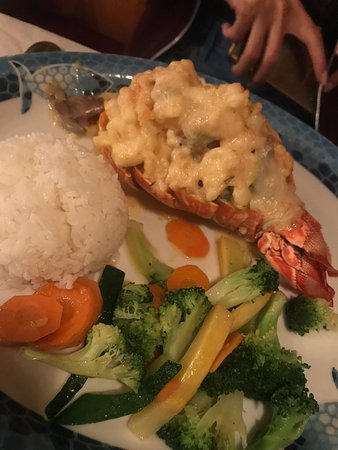 Heavy meal, but delicious lobster tail. Expect to pay though!