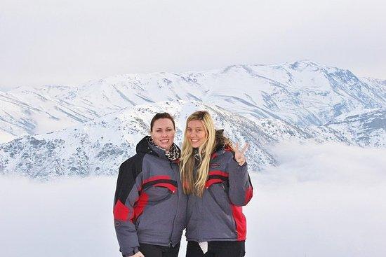 Viagem diurna para Valle Nevado e a...