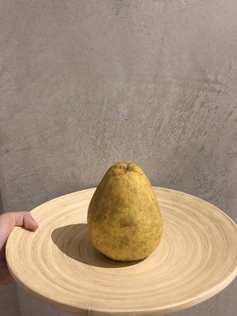 自家種的柚子