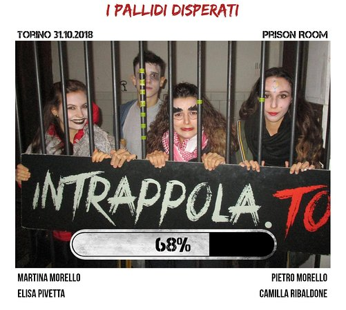 Hallowen in Escape room Intrappola.to