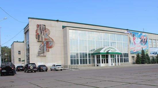 Стерлитамак, Россия: Здание Башдрамтеатра