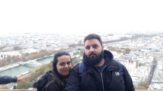 Tour Eiffel : Η θέα από τον πύργο