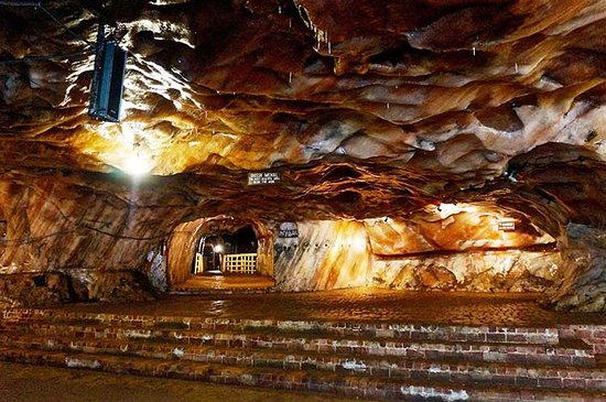 Khewra Salt Mines  The Khewra Salt Mine is also known as Mayo Salt Mine, in honour of Lord Mayo, who visited it as Viceroy of India. The mine is a part of a salt range that originated about 800 million years ago, when evaporation of a shallow sea followed by geological movement formed a salt range that stretched for about 300 kilometers (185 miles). Contact Ashfaq Khan Tour Guide 03008094313