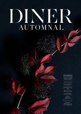 Spécial dîner le 9 novembre 2018, nous prenons vos réservations dès à présent!!