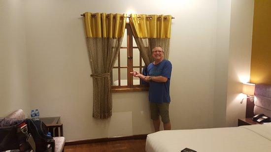 No real window.