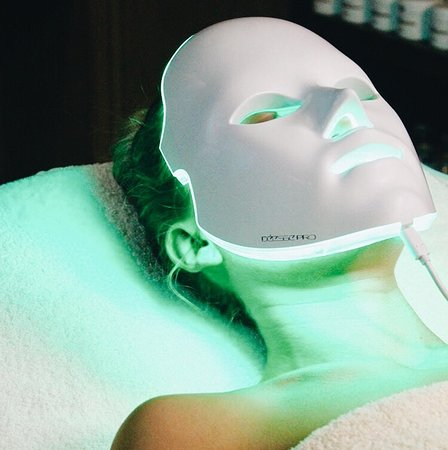 Vibrant Salon & Spa: Déesse Pro LED provides a safe, pain-free way to promote naturally vibrant and clearer skin.  The device uses low-level light therapy (LLLT) by way of medical-grade, surface-mounted, light emitting diodes (LED's) to expose the skin to clinically proven wavelengths of light, delivered at safe, therapeutic doses.