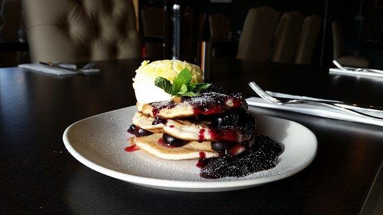 The Butchers Block : Blueberry Pancakes