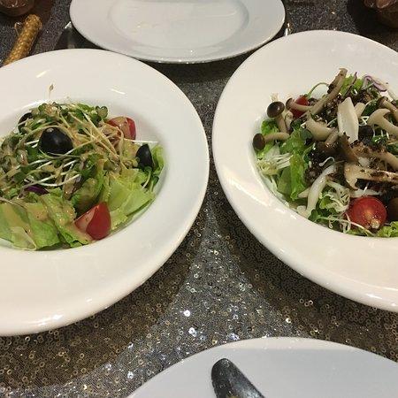 雰囲気のよいレストラン