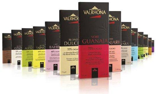 Sokolatreia: Valrhona chocolates