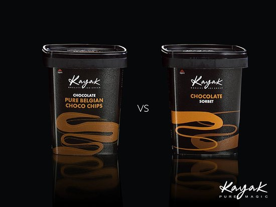 Sokolatreia: Kayak greek ice cream