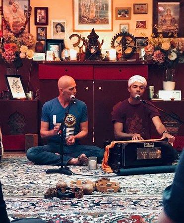 Svaha Yoga: Patrick and Gosto hosting Kirtan event at the yoga studio