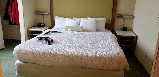 Room 402 Bed