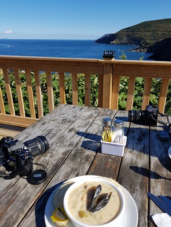 Meat Cove, Kanada: Seafood Chowder