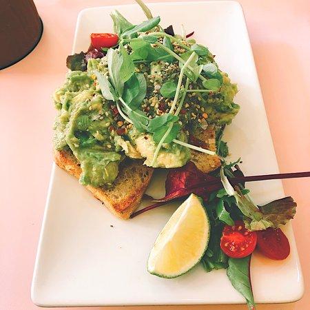 Avocado toast @heartofinspirationguides