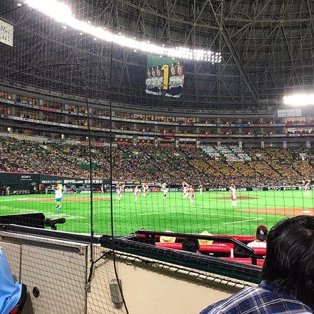 是個享受棒球比賽的地方