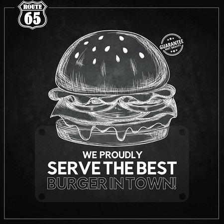Route 65 : The best Burger in Aqaba