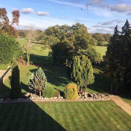 View from our rooms in the attic; wonderful!