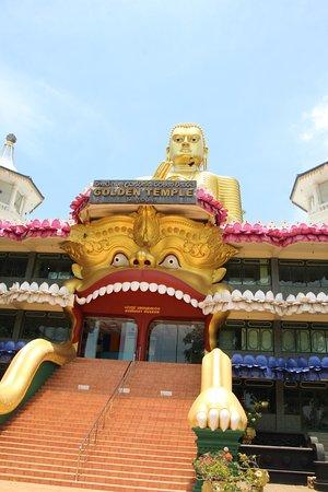 Abajo está el mayor Buda del Mundo.
