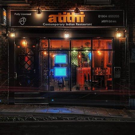 1st Visit Atithi Contemporary Indian Restaurant York