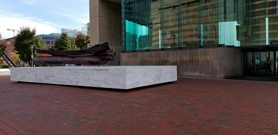 Front of World Trade Center  Baltimore