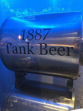 Tank Beer pumped straight from brewery