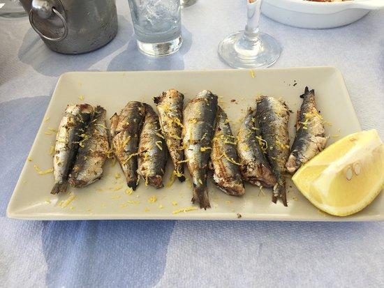 Ouzeri Mitsi: sardines