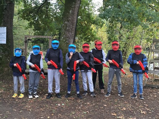 Carennac, Γαλλία: FORMULE ANNIVERSAIRE PAINTBALL