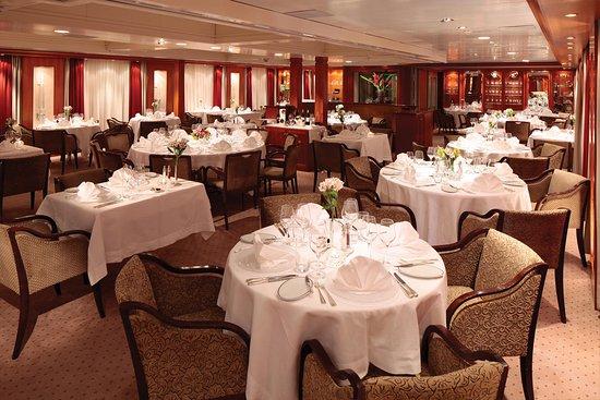 Seadream I Dining Room