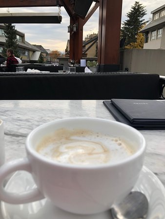 the coffee view