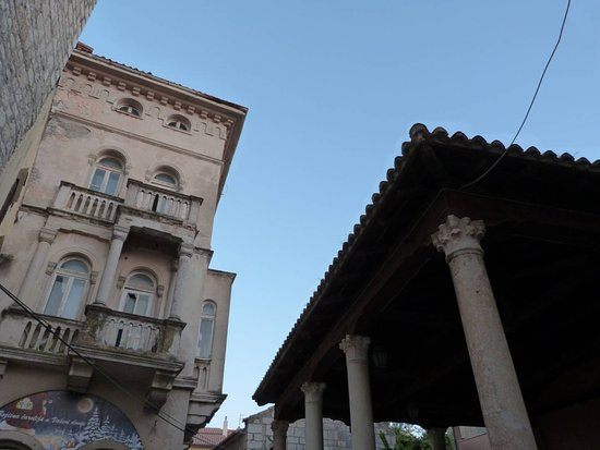 Rab Town, Croatia: The Town Loggia