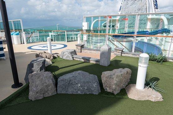 Brilliance of the Seas mini golf