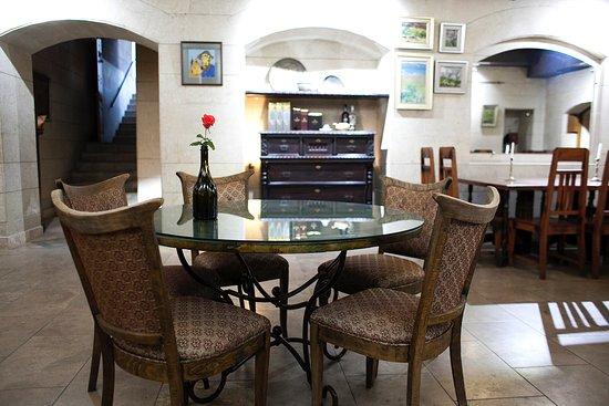 The indoor part, Tamzara restaurant, paintings of Gevorg Poghosyan (Zhor) and David Khachatryan