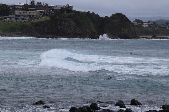 Kiama, Australia: A wave