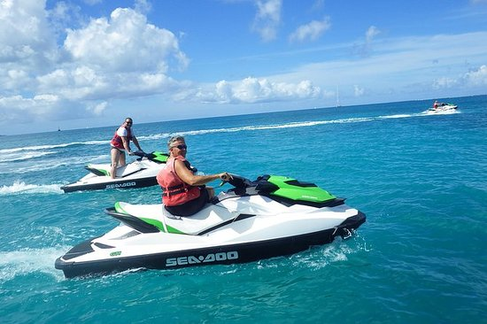 Jet Ski Tour in St Martin