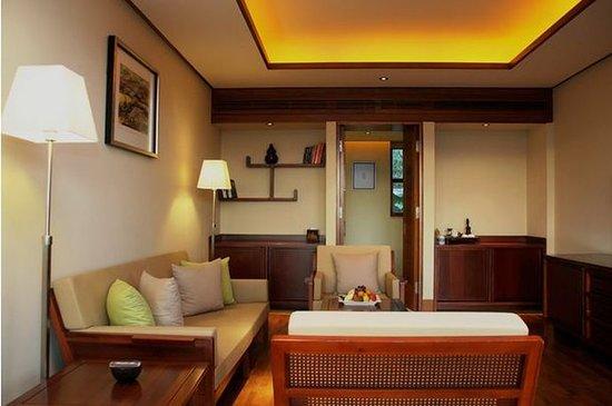 Lancang County, China: Guest room