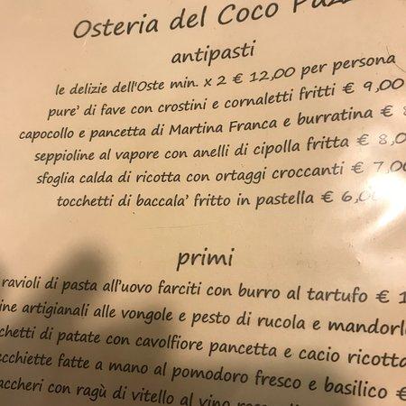 Osteria del Coco Pazzo da Stefano Foto