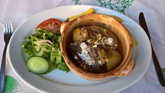 One of greek national food,but I do not remember how it is called