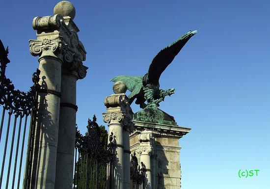 Turul Bird Statue