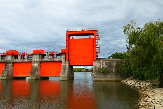 Former Iwabuchi Water Gate (Red Water Gate)
