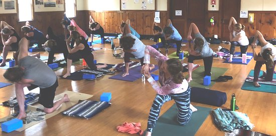 Charlestown, Род Айленд: Enjoy our community of like minded yogis at Quonny Yoga!